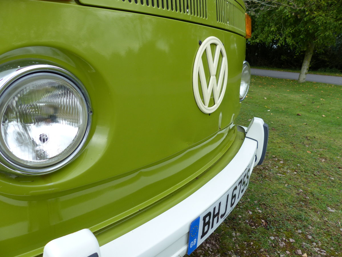 1977 TYPE 2 BAY WINDOW WESTFALIA BERLIN CAMPER 2.0 For Sale (picture 6 of 6)