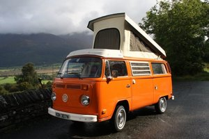 1975 Volkswagen T2 Bay Westfalia Campmobile For Sale by Auction