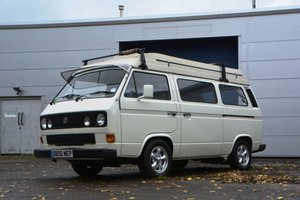 1986 Volkswagen T25 Holdsworth Campervan For Sale by Auction