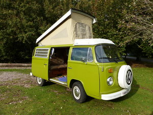 1978 TYPE 2 BAY WINDOW WESTFALIA BERLIN CAMPER 2.0 For Sale