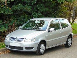 2001 Volkswagen Polo 1.4 Match Auto.. Genuine 32,445 Miles & FSH SOLD