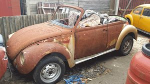 1975 1303 Beetle Convertible Shell For Sale