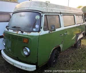 1979 bay window vw camper van project Barn find
