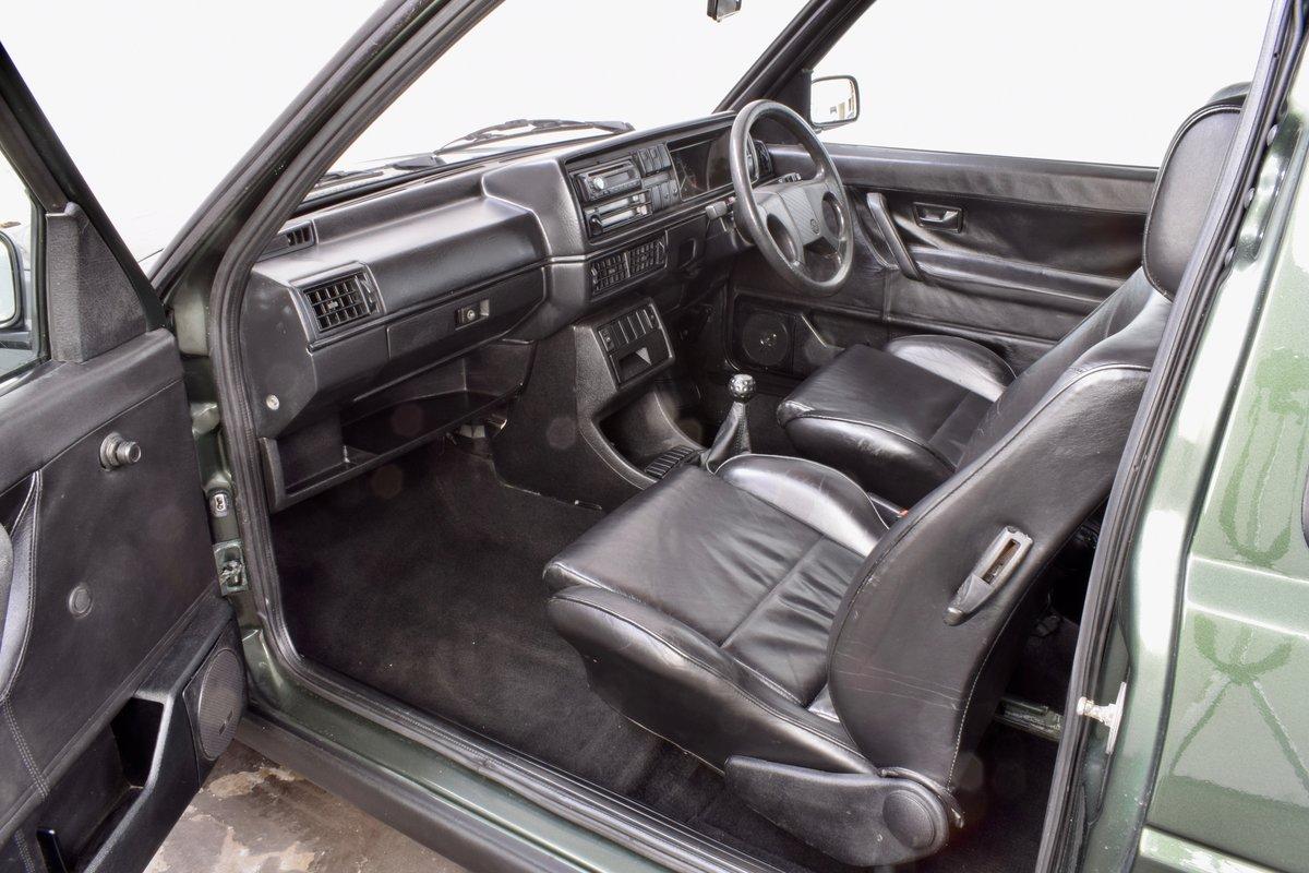 VW VOLKSWAGEN GOLF GTI MK2 OAK GREEN 3DR 1.8 8V 1991 SOLD (picture 11 of 14)