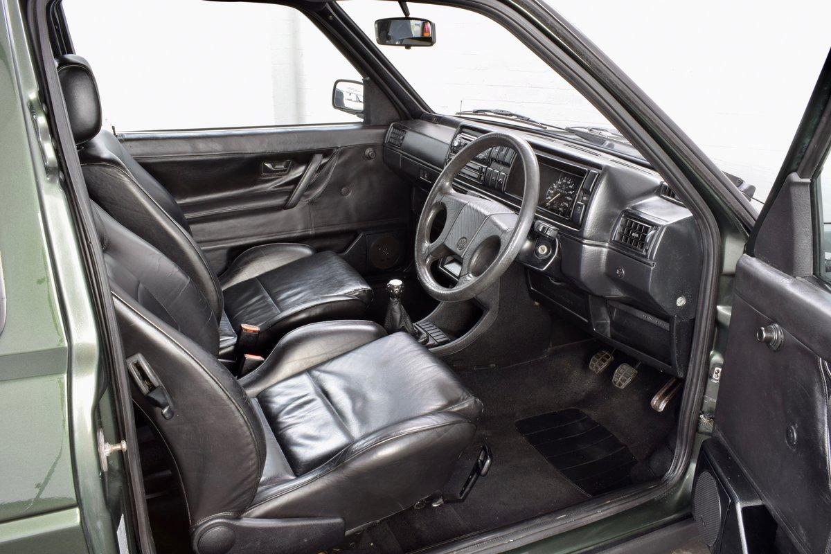 VW VOLKSWAGEN GOLF GTI MK2 OAK GREEN 3DR 1.8 8V 1991 SOLD (picture 12 of 14)
