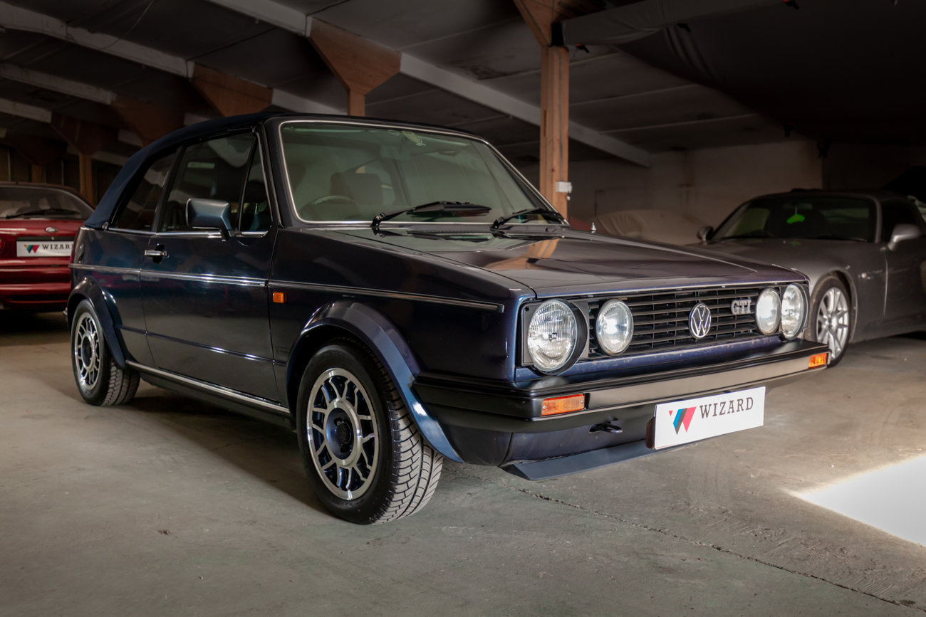 1988 Golf GTi Cabriolet  SOLD (picture 1 of 17)