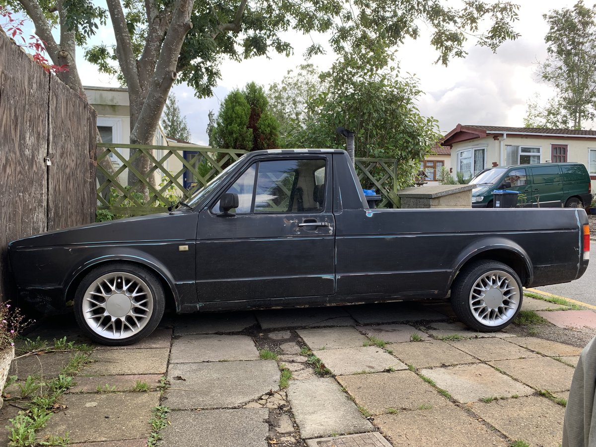 1990 Mk1 Caddy Pick Up Lowered  For Sale (picture 1 of 6)
