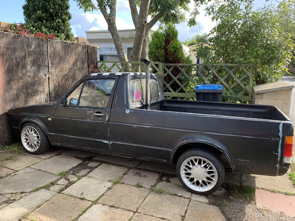 1990 Mk1 Caddy Pick Up Lowered  For Sale (picture 4 of 6)