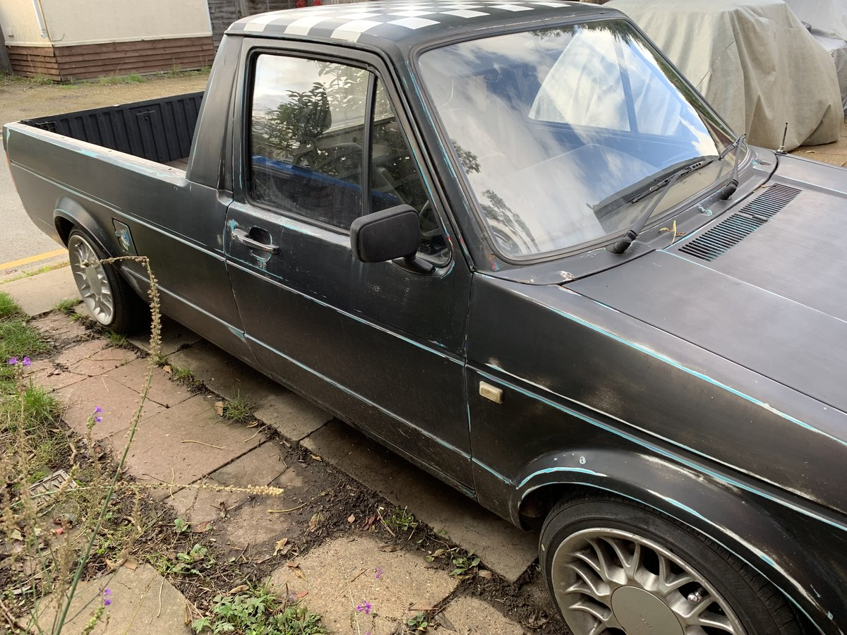 1990 Mk1 Caddy Pick Up Lowered  For Sale (picture 6 of 6)