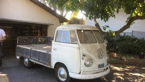 VW Single Cab Transporter 1959 Model 261 California Import For Sale