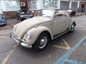 1967 VW beetle karmann convertible 1 year model For Sale