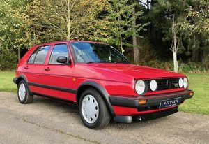 1989 Volkswagen Golf GTi 68k, FSH, exceptional 80's classic SOLD