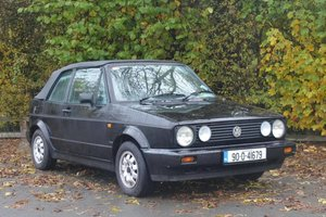 1991 Volkswagen Golf Cabriolet Automatic For Sale by Auction