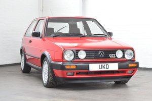 VW VOLKSWAGEN GOLF GTI 16V MK2 3DR 1992 RED