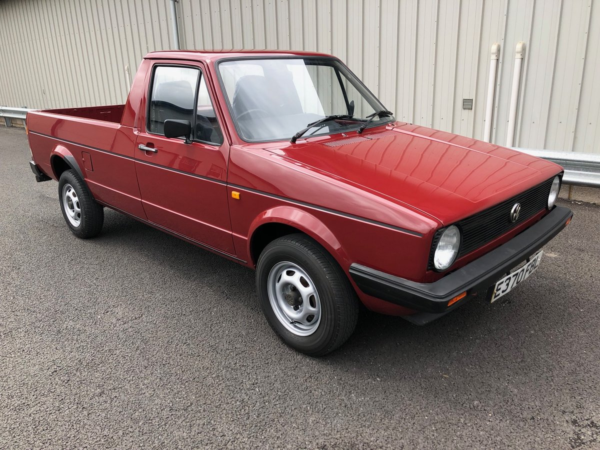 1987 VOLKSWAGEN CADDY GOLF MK1 PICKUP 1.6 PETROL 1 OWNER! For Sale (picture 1 of 6)
