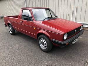 1987 VOLKSWAGEN CADDY GOLF MK1 PICKUP 1.6 PETROL 1 OWNER! For Sale