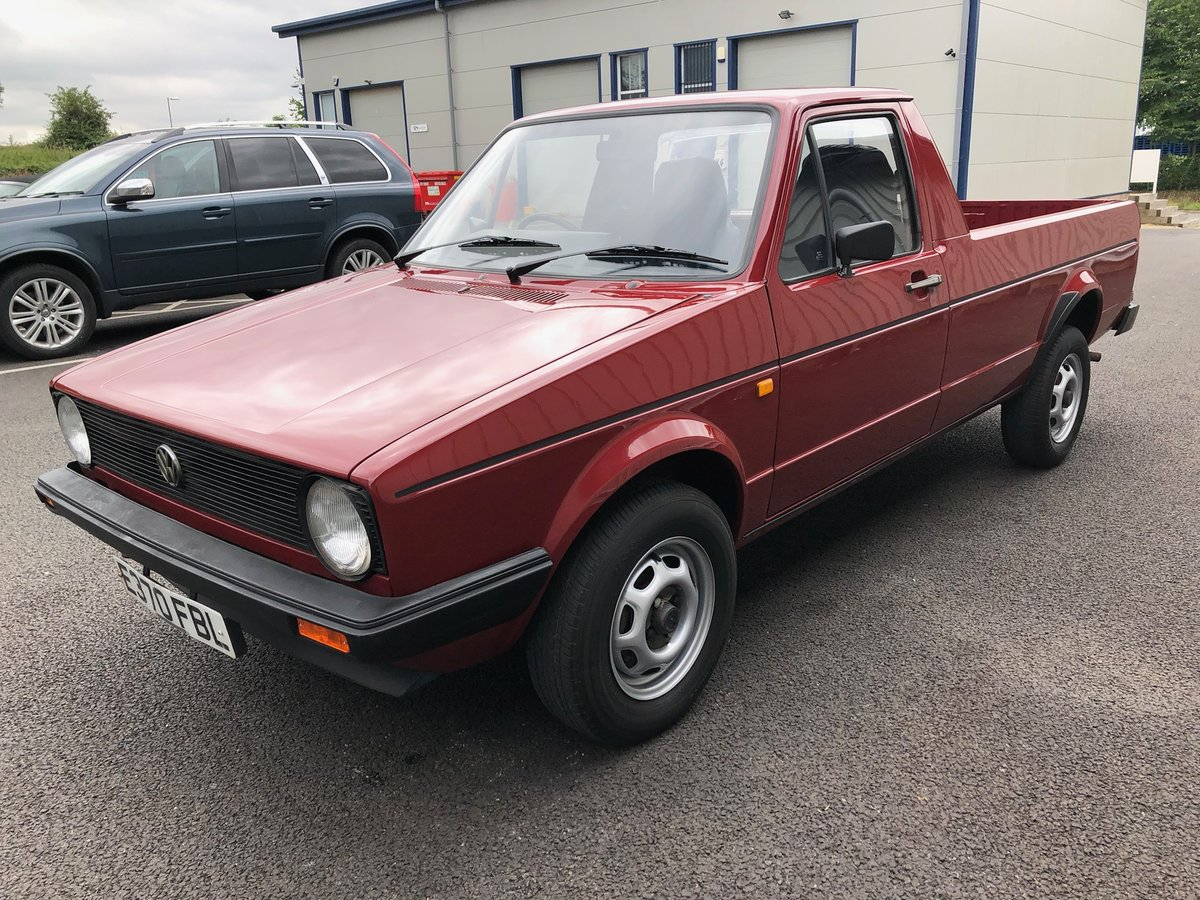 1987 VOLKSWAGEN CADDY GOLF MK1 PICKUP 1.6 PETROL 1 OWNER! For Sale (picture 5 of 6)