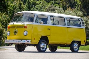 1974 Volkswagen Bus Solid Dry Driver Yellow Cali $14.9k For Sale