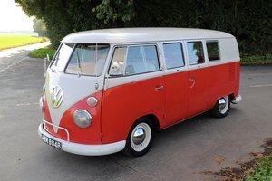 1964 VW Split Screen Camper Van. Factory Right Hand Drive