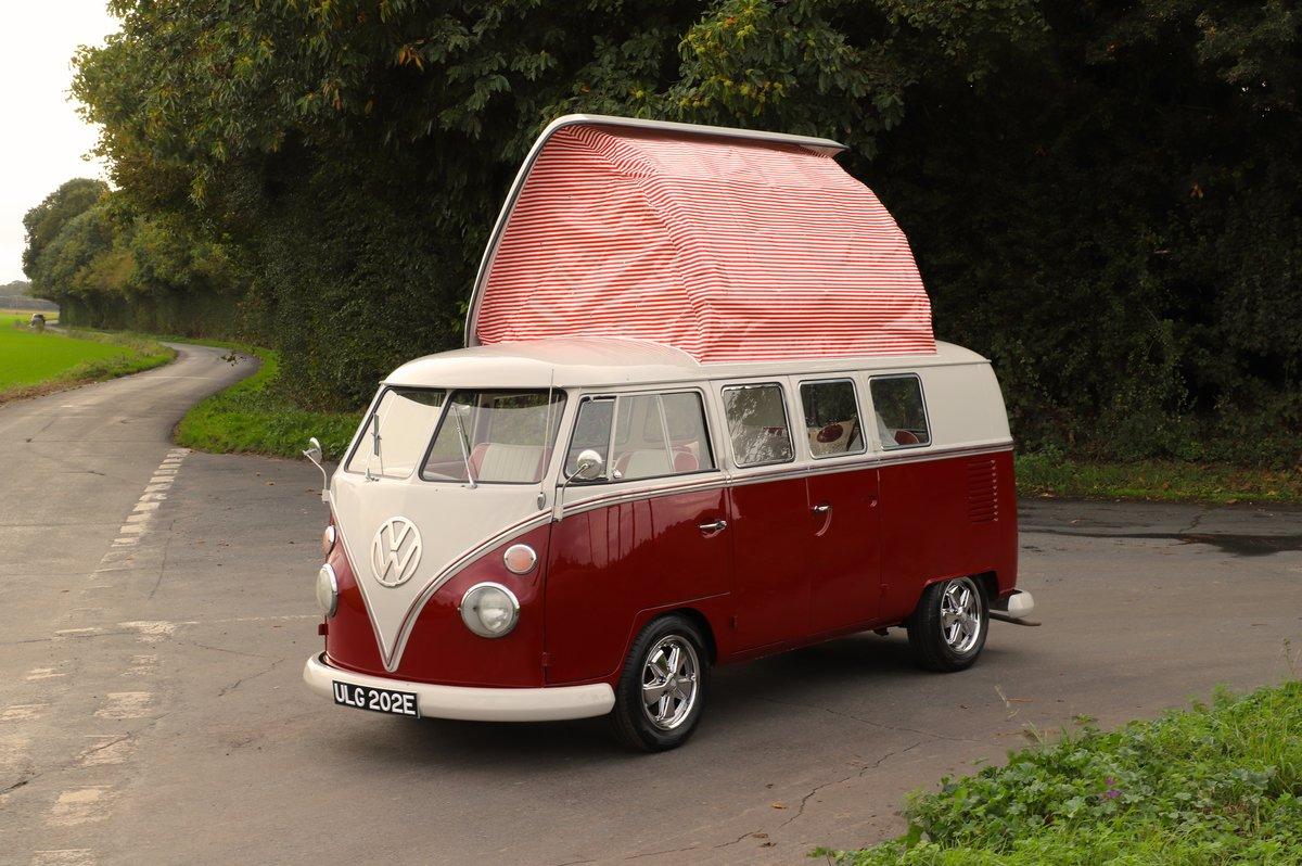 1967 VW Split Screen Camper Van – Factory German Built & RHD For Sale (picture 1 of 6)