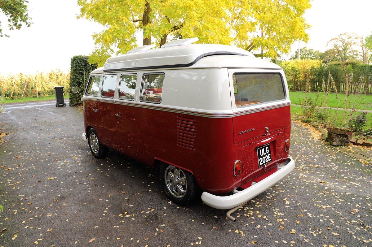 1967 VW Split Screen Camper Van – Factory German Built & RHD For Sale (picture 2 of 6)
