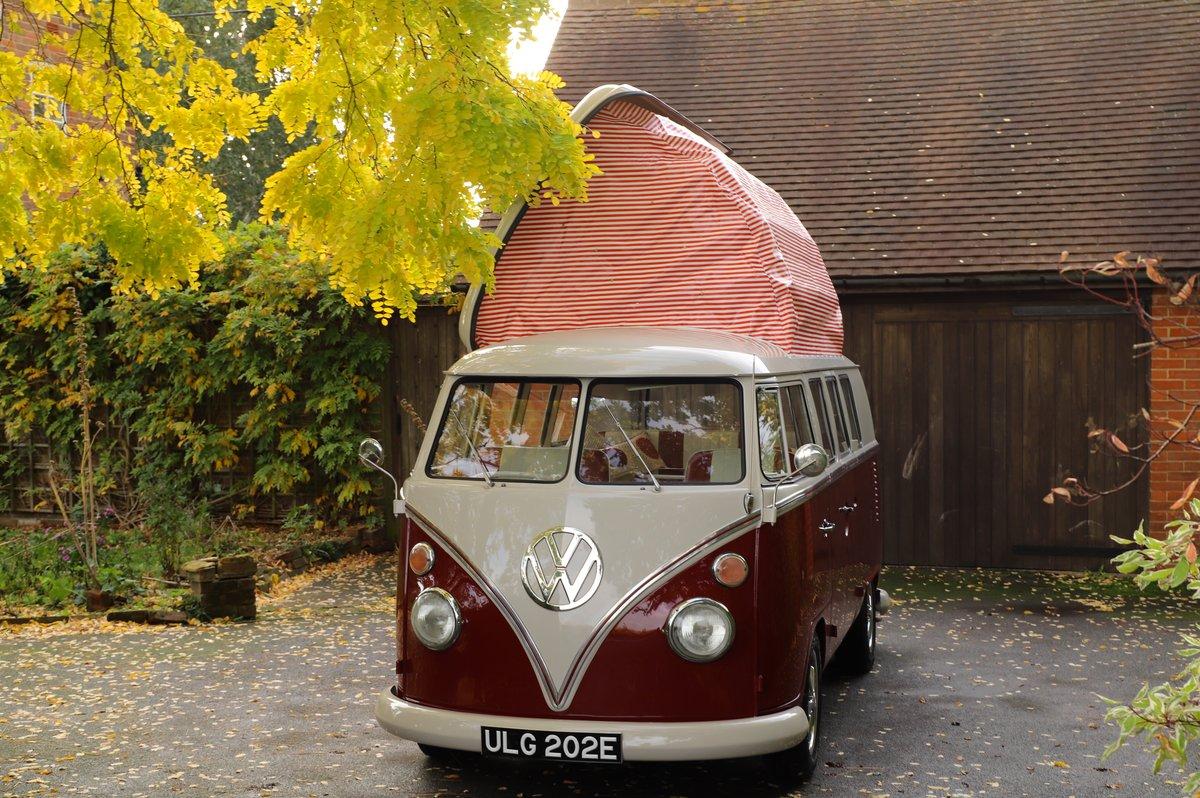 1967 VW Split Screen Camper Van – Factory German Built & RHD For Sale (picture 3 of 6)