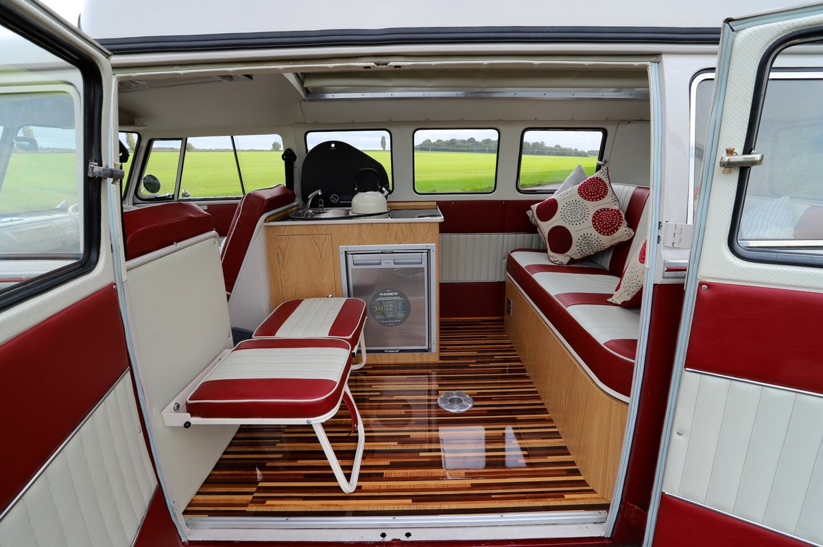1967 VW Split Screen Camper Van – Factory German Built & RHD For Sale (picture 5 of 6)