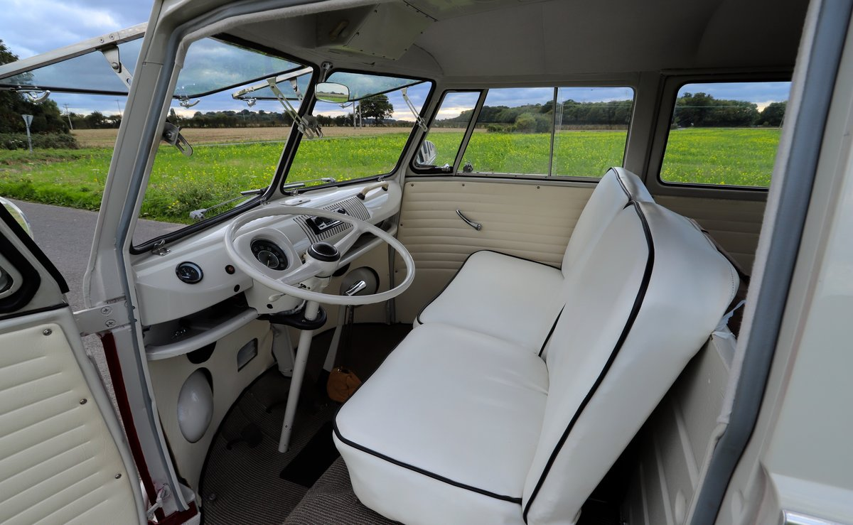 1965 VW Split Screen Camper Van. Choose Brand New Interior!  For Sale (picture 4 of 6)