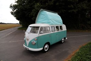 1964 VW Split Screen Camper Van. RHD. Pop Top. Restored For Sale