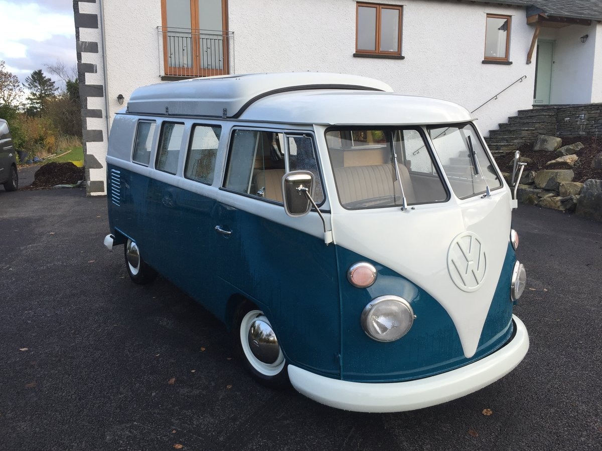 1967 VW Splitscreen 67 rhd Devon dormobile For Sale (picture 1 of 6)