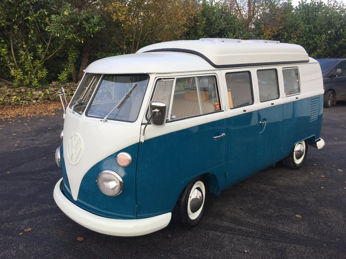 1967 VW Splitscreen 67 rhd Devon dormobile For Sale (picture 4 of 6)