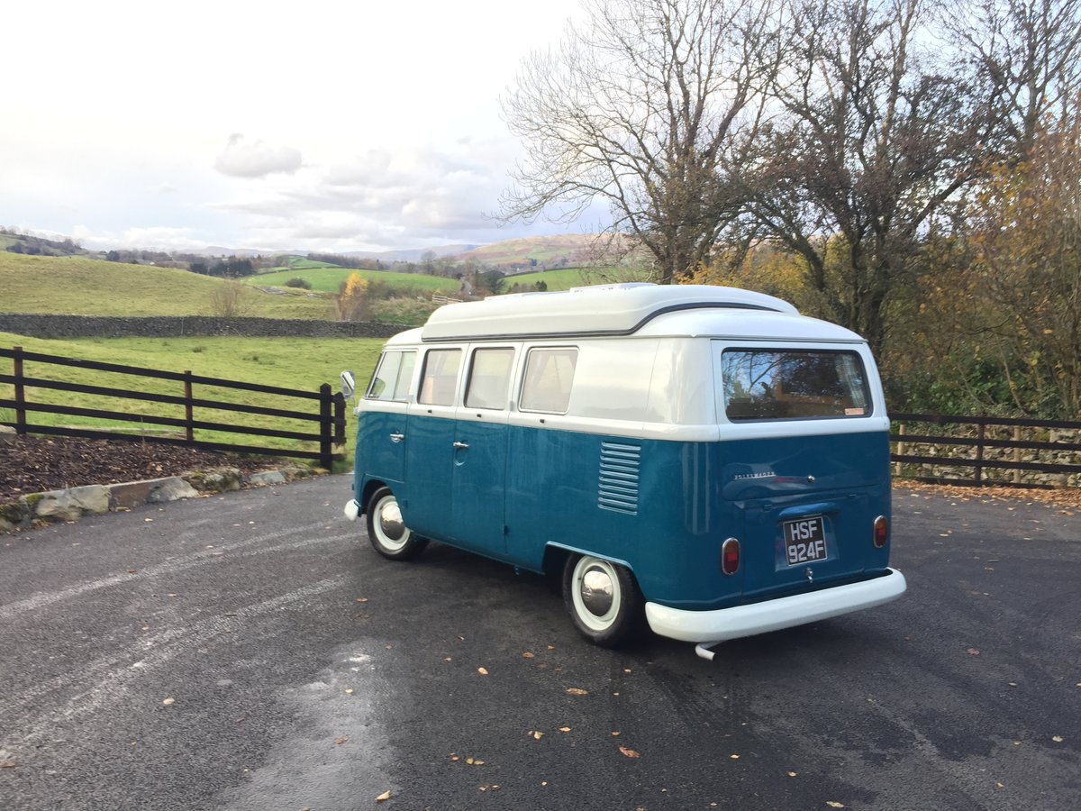 1967 VW Splitscreen 67 rhd Devon dormobile For Sale (picture 5 of 6)
