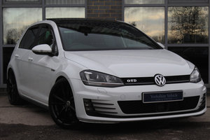 2014 63 VOLKSWAGEN GOLF 2.0 TDI GTD DSG  For Sale