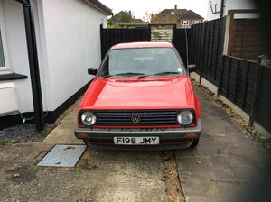 1988 VW Golf mk2 in original condition