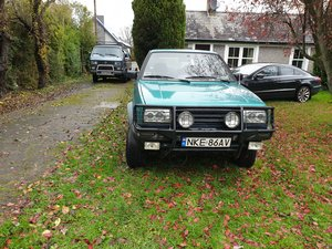 1992 Volkswagen Golf Country 4 x 4 (Syncro) For Sale