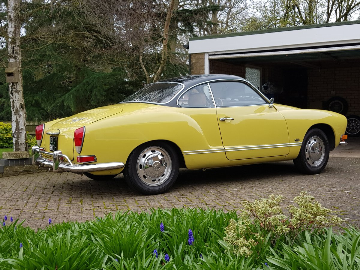 1970 Karmann Ghia Original unrestored For Sale (picture 6 of 6)