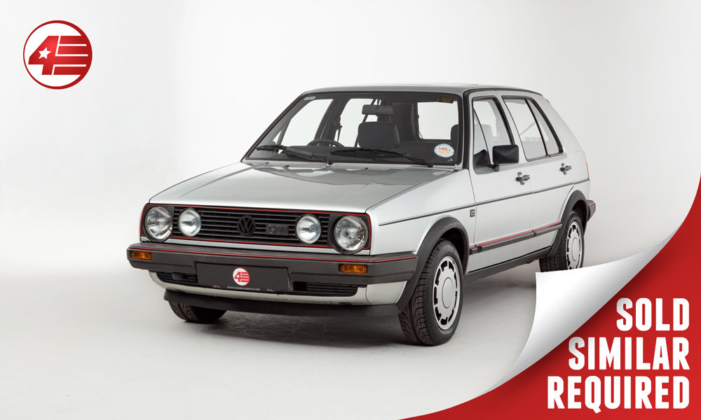 1985 VW Golf GTI Mk2 /// One Owner /// 74k Miles SOLD (picture 1 of 3)