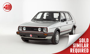1985 VW Golf GTI Mk2 /// One Owner /// 74k Miles SOLD