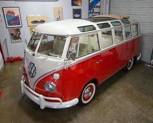 1966 Volkswagen Type 2 Deluxe MicroBUS Rare 21 Window $74.9k For Sale