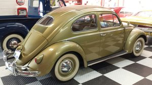 1957 Volkswagen Beetle Pound is Up Price is Down