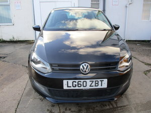 2010 POLO 3 DOOR 1200cc PETROL BLACK 88K NEW MOT OIL JUST CHANGED