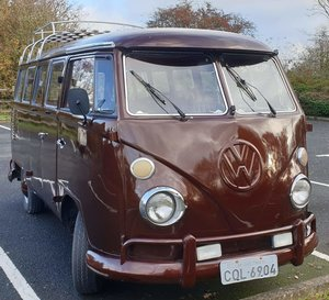1972 VW Split Screen Camper Day Van £12,000 - £15,000 For Sale by Auction