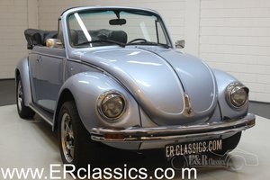 Volkswagen Beetle Cabriolet 1974 Light blue metallic