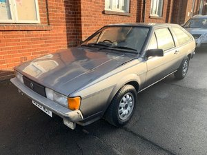 **REMAINS AVAILABLE** 1985 Volkswagen Scirocco SOLD by Auction