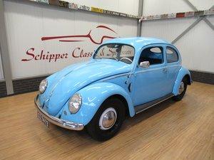 Volkswagen Beetle 1952 Brezel / Split Rheumaklappe For Sale