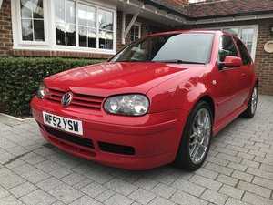 2002 VW GOLF GTI MK4 ANNIVERSARY For Sale