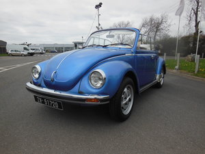 1977 VW Beetle 1303 LS Karmann THIS CAR IS SOLD For Sale
