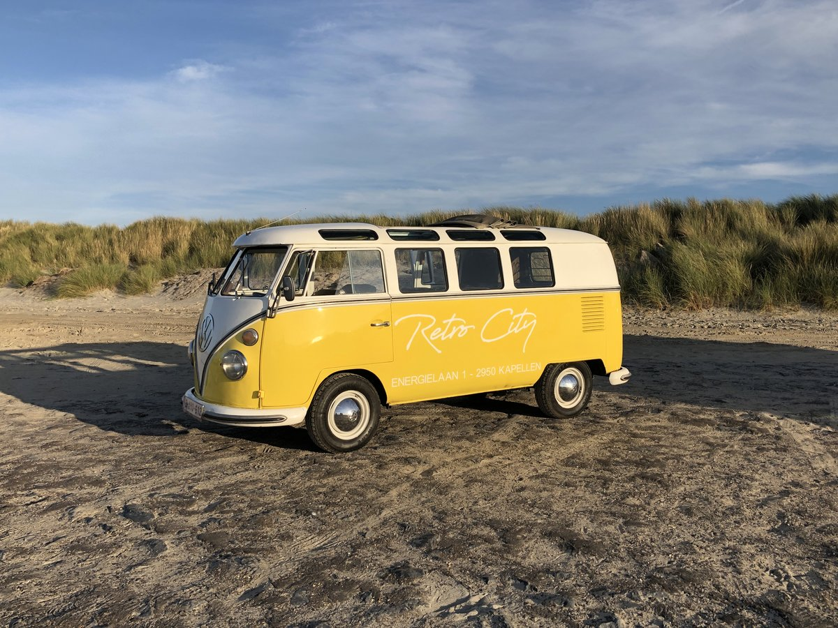 1961 Volkswagen type 1 19 windows de luxe For Sale (picture 1 of 6)