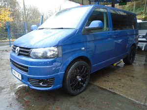 2014 VW TRANSPORTER SHUTTLE 2.0TDI 102, 9 SEATER