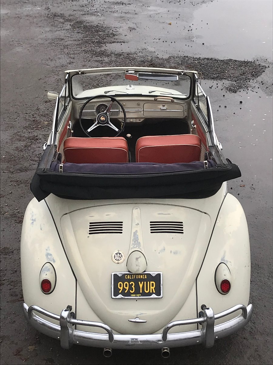 1960 VW karmann beetle cabriolet For Sale (picture 1 of 6)